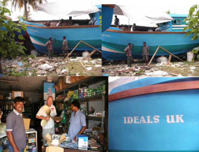 "THE FISHING TRAWLER ""IDEALS UK"" DURING CONSTRUCTION AND
